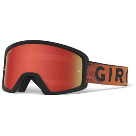 Giro Blok Gafas MTB, black/red hypnotic-amber/clear